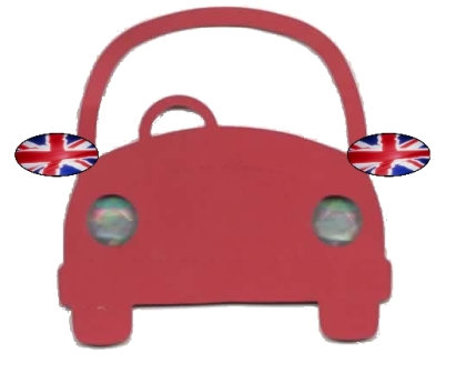 England Wing Mirror Covers